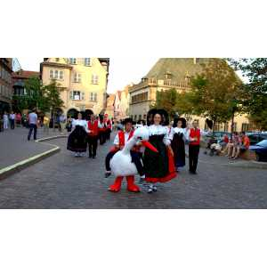 Défilé Folklorique Alsacien avec Holatrio Hop'sasa